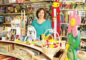Eunice: destaque para os brinquedos de seringueira em Nuremberg