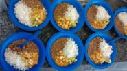 Merenda escolar em Itanhaém, no litoral paulista: alimentos saudáveis da cultura indígena, da pesca e da agricultura familiar   Foto: Divulgação