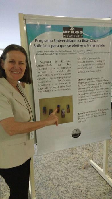 A nutricionista e enfermeira Themis Dovera, professora de Enfermagem da Ufrgs: pesquisas associam Multimistura e Saúde Pública