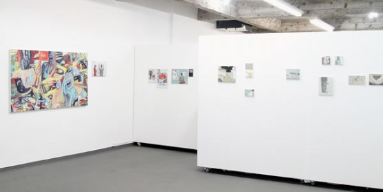 Galeria de arte do Atelier Subterrânea, criado em 2006