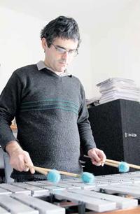 Diego Silveira, percussionista da Ospa