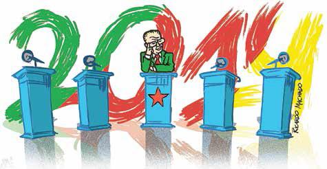 Cenários iniciais para a eleição de 2014 no RS