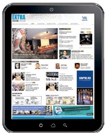 Extra Classe inova e lança sua versão on-line