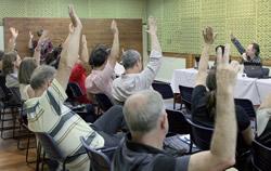 Assembleia de Porto Alegre, foi realizada na sede estadual do Sindicato no dia 24 de novembro | Foto: Igor Sperotto