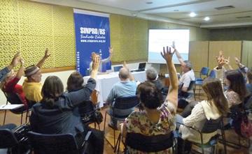 Assembleia ocorreu no dia 3 de agosto, em Porto Alegre