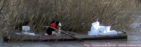 Agrotóxicos proibidos entram pela fronteira. Em 14 de março PF apreendeu 5 toneladas