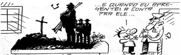 Quadrinho - Dr. Fraud | Ilustração: Canini