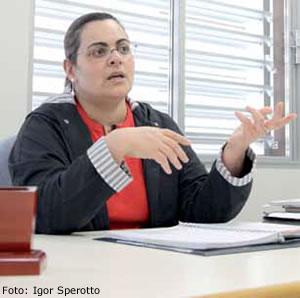 Lenir dos Santos Moraes, coordenadora pedagógica