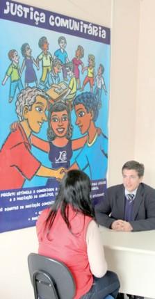 Defensoria presta serviços no Mathias Velho, em Canoas