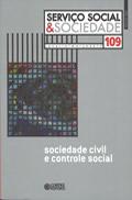 Capa Livro: Sociedade civil e controle social, 208 p.