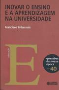 Capa Livro: Inovar o ensino e a aprendizagem na universidade, 128 p. (Cortez)