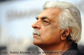 Tariq Ali, em conferência na Câmara Municipal