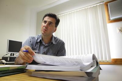 O promotor Cozza Bruno, de Estrela, responsável pela investigação que levou à cassação do prefeito de Colinas
