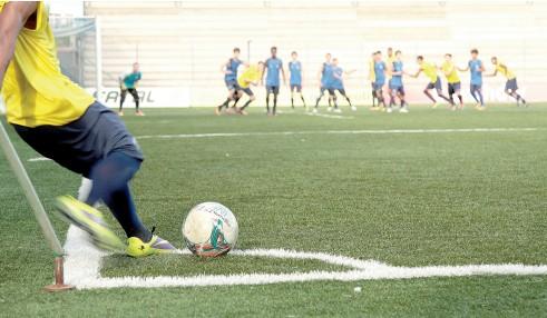 Treino das categorias de base do Esporte Clube São José, no Estádio Passo D'areia, em Porto Alegre