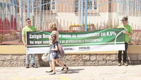 Manifestações públicas por aumento salarial