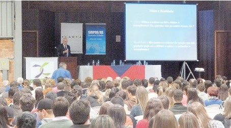 Aula Inaugural realizada em Vacaria e na Ulbra (Guaíba) somaram mais de 1,3 mil professores e estudantes