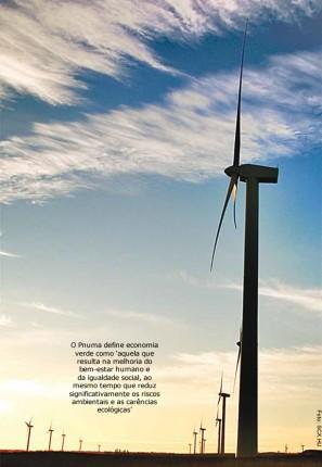O Brasil possui 44 parques eólicos em operação construídos com incentivos do Programa de Infraestrutura (Proinfra), mas eles geram apenas 0,5% da energia produzida no país. Até 2013, a capacidade instalada deve saltar dos atuais 900 megawatts para 5,25 gigawatts.