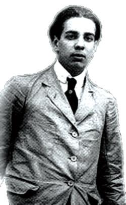 Jorge Luis Borges, na juventude