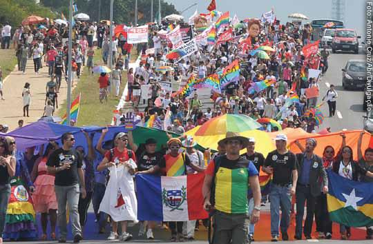 2ª Marcha Nacional Contra a Homofobia foi realizada em Brasília, em maio