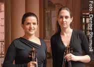 Paula Bujes e Brigitta Calloni