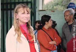 Isabel Pereira, moradora do bairro Anchieta