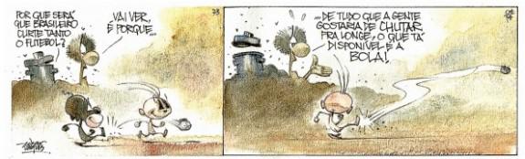 Quadrinhos RANGO / EDGAR VASQUES   Ilustração: Edgar Vasques