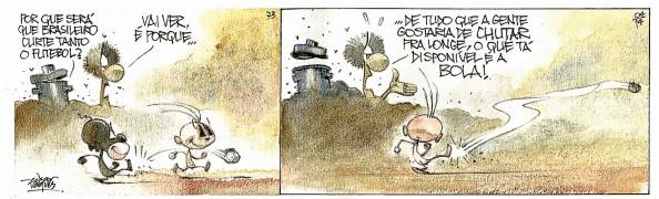 Quadrinhos RANGO / EDGAR VASQUES | Ilustração: Edgar Vasques