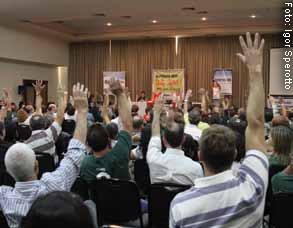 Assembleia ratifica reivindicação de 9%