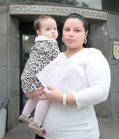 Kauana: médico ignorou fratura em bebê