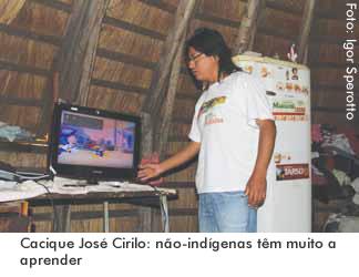 Cacique José Cirilo: não-indígenas têm muito a aprender