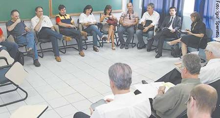 Primeira reunião entre Sinpro/RS e Sinepe/RS ocorreu no dia 1º de março