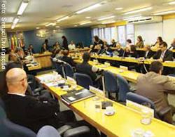 Posse de representantes sindicais no Senac