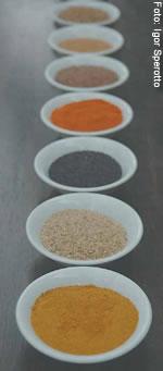 Curry, cúrcuma e canela, condimentos benéficos