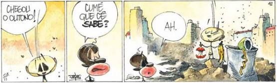 Quadrinhos - RANGO / EDGAR VASQUES   Ilustração: Edgar Vasques