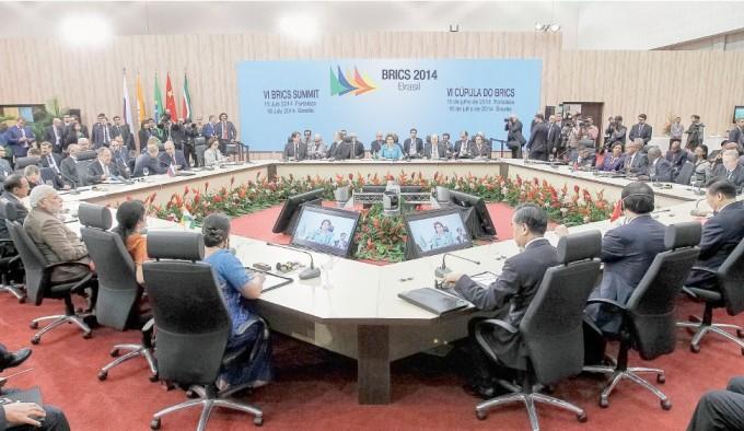 Presidenta Dilma Rousseff durante a VI Cúpula do BRICs, em 15 de julho