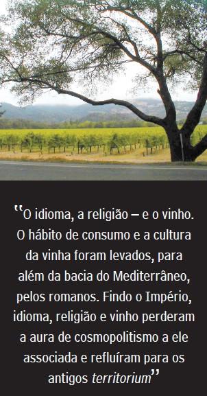 O conceito de terroir para uso e abuso da vinicultura globalizada