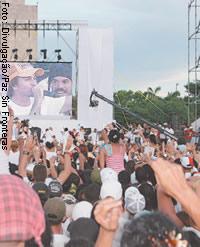 Segundo Concerto do Paz Sem Fronteiras reuniu meio milhão de pessoas em Havana, em setembro de 2009