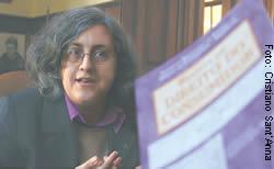 A professora e advogada Cláudia Marques, que participou da elaboração do CDC