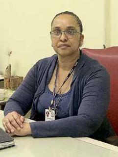 Marília, diretora do Madre Pelletier