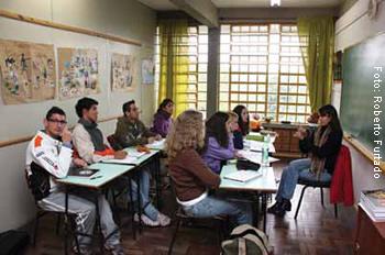 Escola Especial Queli Machado, de Novo Hamburgo, atende alunos surdos