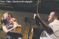 Luciana Pauli e Ricardo Cordeiro, em Doistóque