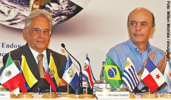 O PSDB de FHC e Serra apresenta a canditatura mais forte de oposição para a presidência
