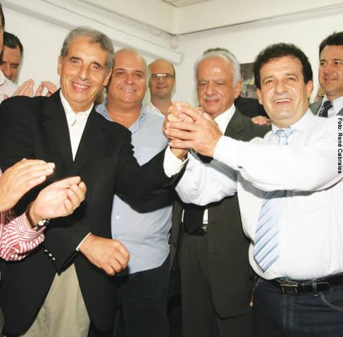 Acordo entre PDT e PMDB para disputar as eleições