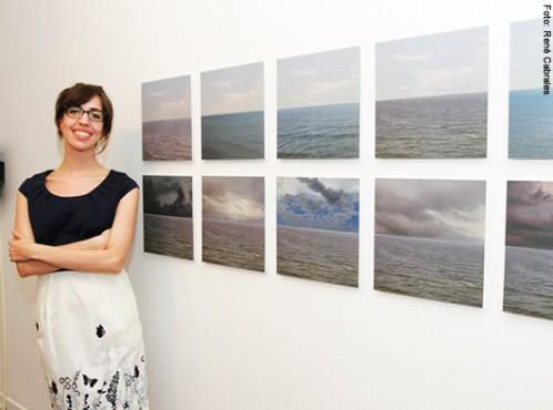 Marina Camargo e sua obra Horizontes Simulados