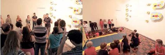 Professores e estudantes participaram do projeto para tocar e para assistir