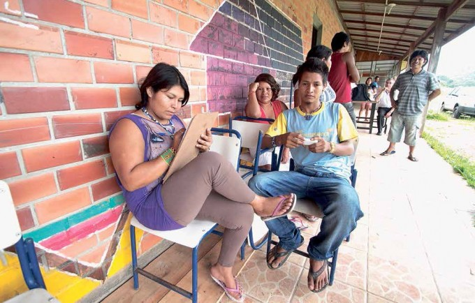 Escolas indígenas preservam tradições