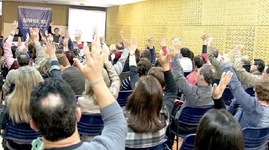 Categoria decide sobre a pauta 2015 em Assembleia em várias regiões