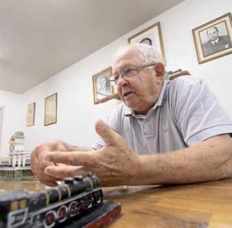 """Mainardi, ex-superintendente da RFFSA: """" trens deveriam ser prioridade"""""""