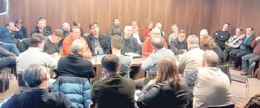 Reuniões com a comissão patronal dissidente ocorreram em Porto Alegre