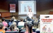 Palestras proporcionam o debate e subsídios sobre metodologias em sala de aula | Foto: Glaci Borges